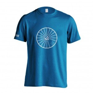 Get on your bike and ride t-shirt front